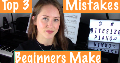 3 Mistakes Beginners make when learning how to play the Piano