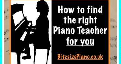What Should You Look For In A Piano/Music Teacher?